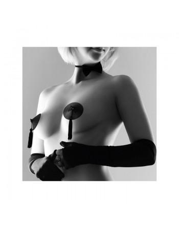 Cache-tétons Burlesque noir