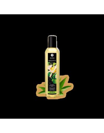 Huile de massage organique - Thé vert