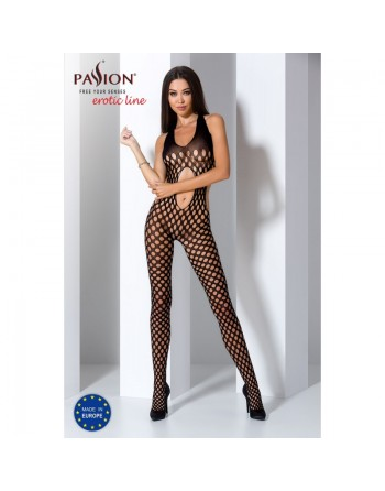 BS065 Bodystocking - Noir