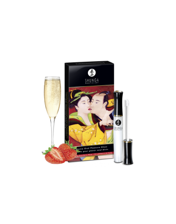 Gloss pour plaisir oral divin - Vin pétillant fraise
