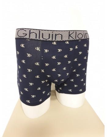 Boxer bleu foncé motif GK