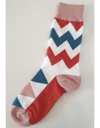 chaussettes stries unisex...