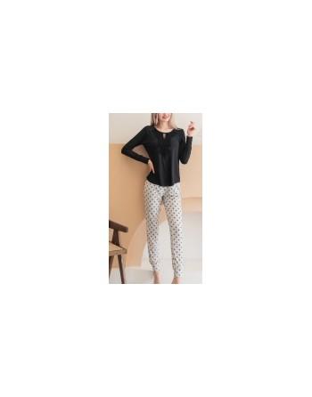 pyjama noir RM43