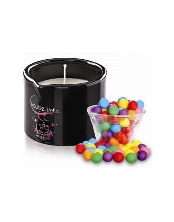 Bougie de massage Bubble gum