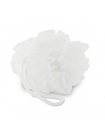 fleurs de douche blanc