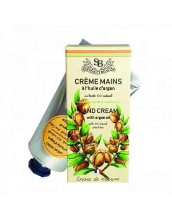Crèmes main à l'huile d'Argan