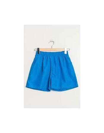 Short de bain bleu cyan