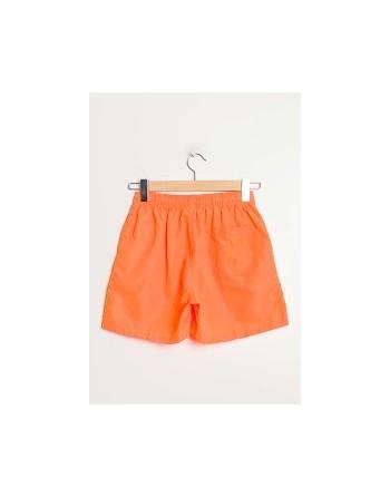 short de bain orange
