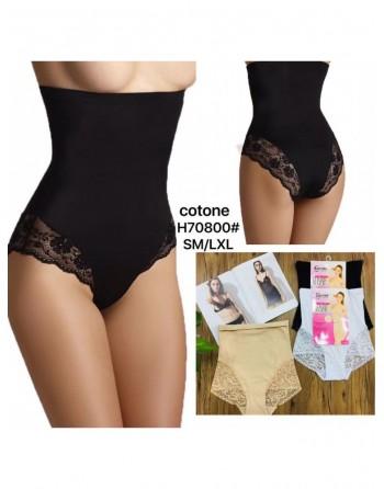 culotte gaine en cotton noir